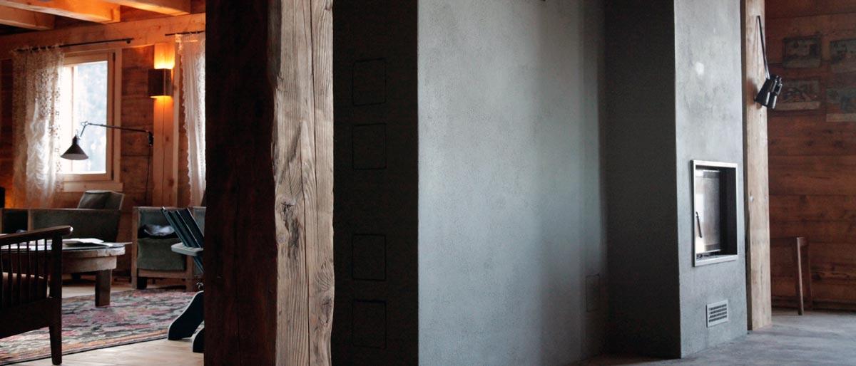 po le n 15 un chalet de montagne chaud et douillet thermasse. Black Bedroom Furniture Sets. Home Design Ideas